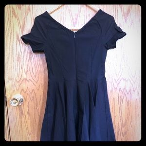 Miss Lulu's 50s Inspired Little Black Dress